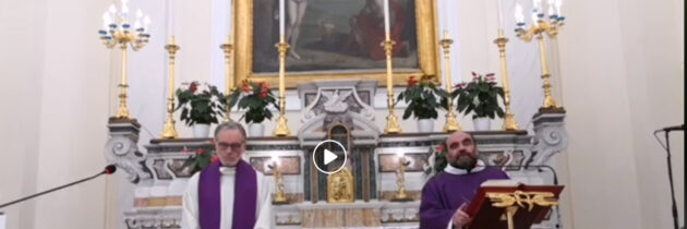 Streaming Holy Mass 15 March 2020