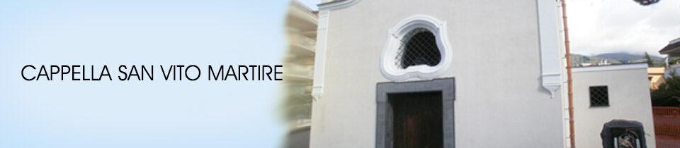 Riapertuta Cappella San Vito Martire
